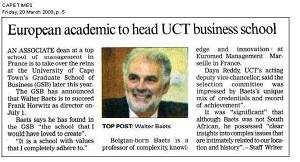 March 20, Cape Times